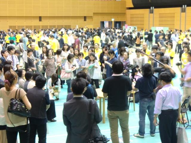 米子市で初めての開催(米子コンベンションセンター)